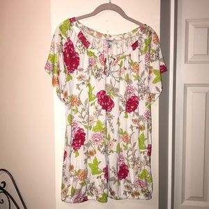 Old Navy 2X short sleeve top/blouse